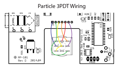 replacing particle footswitch